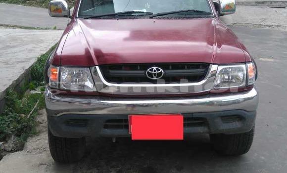 Buy Used Toyota 4Runner Red Car in Paro in Rinpung