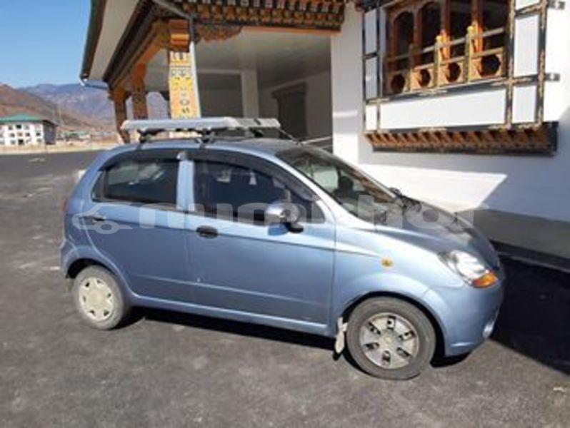 Buy Used Chevrolet Spark Blue Car In Thimphu In Timphu Numkhor