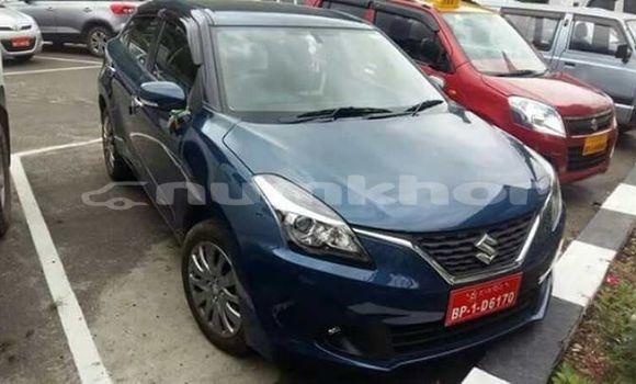 Buy Used Suzuki Baleno Blue Car in Thimphu in Timphu