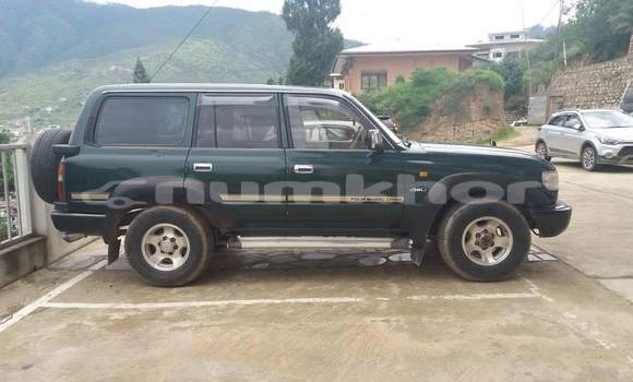 Buy Used Toyota Land Cruiser Blue Car in Thimphu in Timphu
