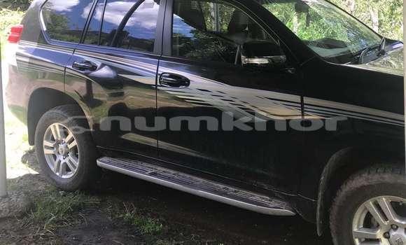 Buy Used Toyota Land Cruiser Prado Black Car in Thimphu in Timphu